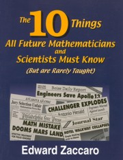 10 Things All Future Mathematicians and Scientists Must Know (Bu
