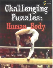 Go Green Book™ - Challenging Puzzles: Human Body