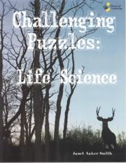 Go Green Book™ - Challenging Puzzles: Life Science