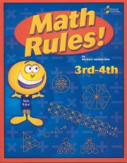Math Rules 3rd-4th - Includes PDF of Book