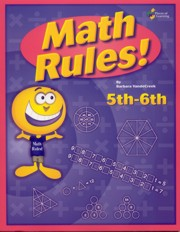 Math Rules! 5th - 6th - Includes PDF of Book