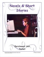 Novels and Short Stories Unit
