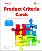 Product Criteria Cards for the Differentiated Classroom