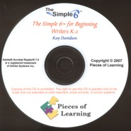 Simple 6™ for Beginning Writers CD