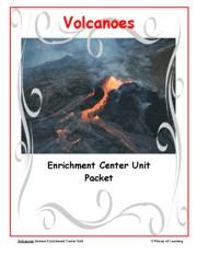 Go Green Unit - Volcanoes