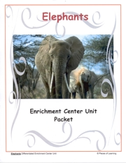 Go Green Unit - Elephants