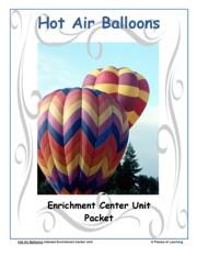 Go Green Unit - Hot Air Balloons