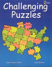 Challenging Puzzles Book 1: Social Studies