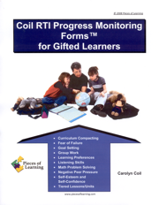 Coil RTI Progress Monitoring Forms™ for Gifted Learners