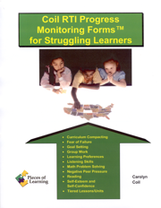 Coil RTI Progress Monitoring Forms™ for Struggling Learners with