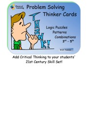 Problem Solving Thinker Cards 3rd - 5th