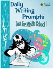 Go Green Book™ - Daily Writing Prompts Just for Middle School!