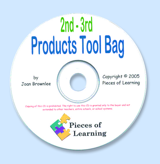Products Tool Bag - 2nd-3rd Grades