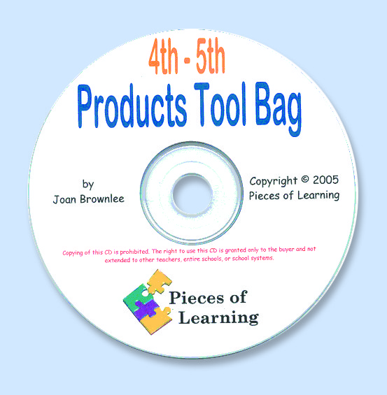 Products Tool Bag - 4th-5th Grades