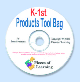 Products Tool Bag - K-1st Grade