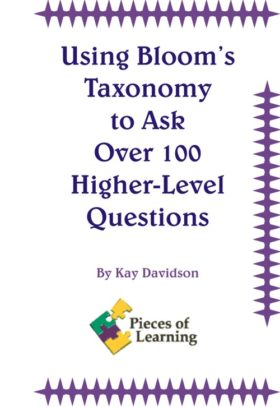 Using Bloom's Taxonomy to Ask Over 100 Higher-Level Questions