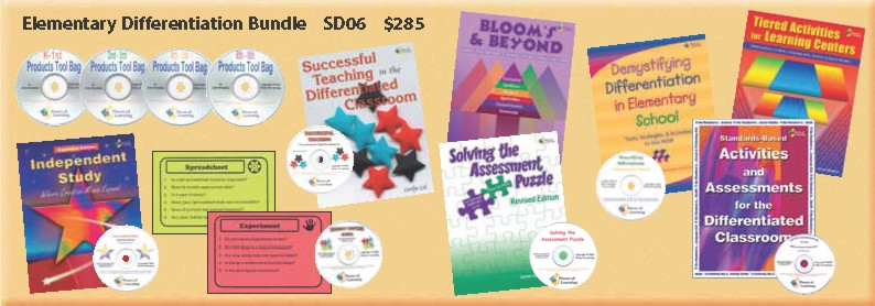 Elementary Differentiation Bundle