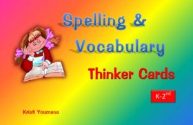 Spelling & Vocabulary Thinker Cards K-2