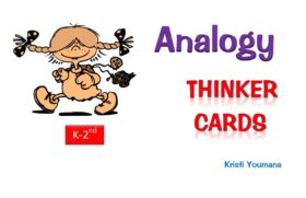 Analogy Thinker Cards K-2nd