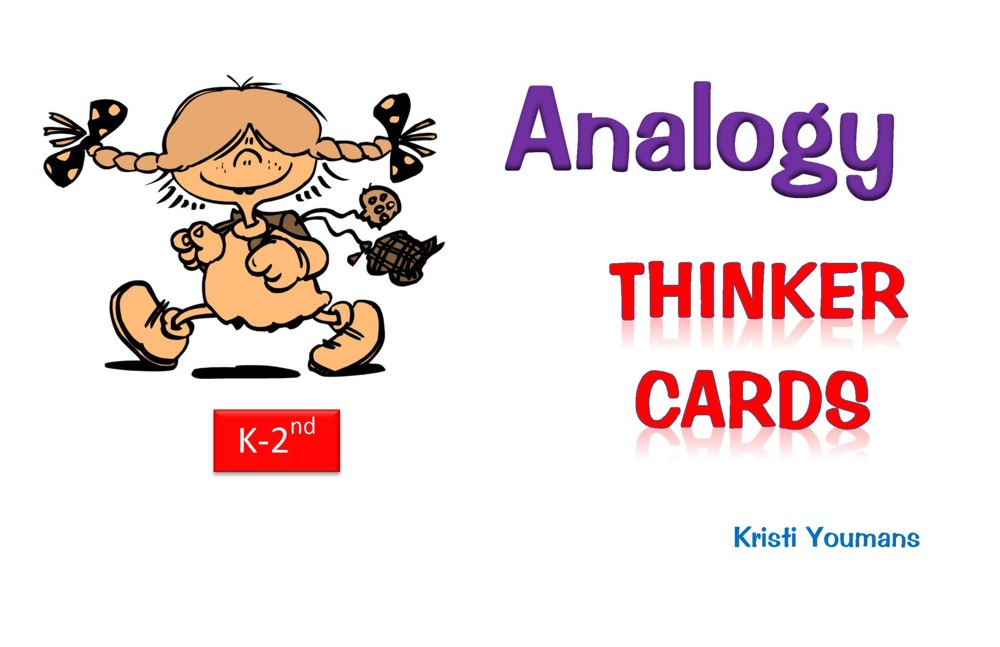Analogy Thinker Cards K-2nd