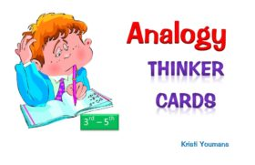 Analogy Thinker Cards 3rd-5th