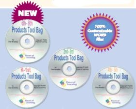 Products Tool Bag 4 CD Set - K-8