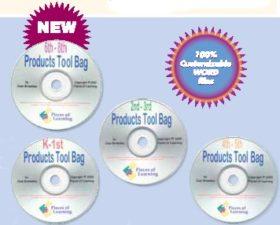 Products Tool Bag 4 CD Set - K-8