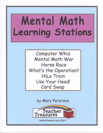 Mental Math Learning Station Games