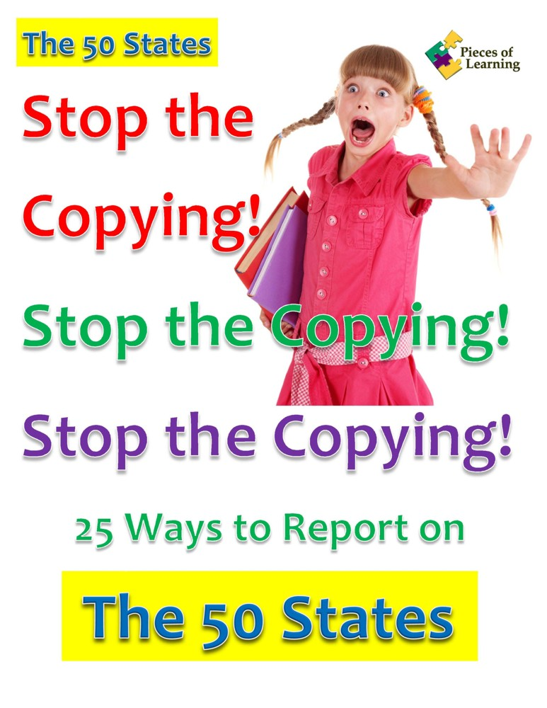 Go Green Book™ - Stop the Copying! The 50 States