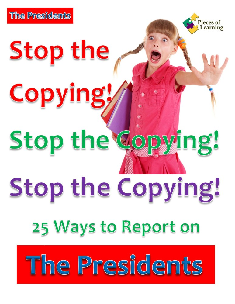 Go Green Book™ - Stop the Copying! Presidents