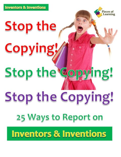 Go Green Book™ - Stop the Copying! Inventions