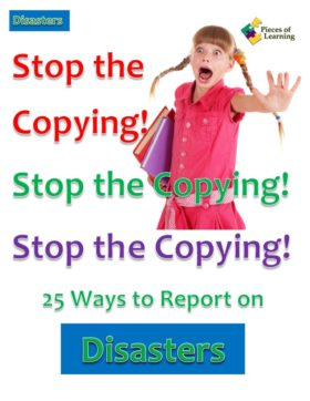 Go Green Book™ - Stop the Copying! Disasters