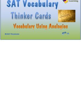 SAT Analogy Thinker Cards
