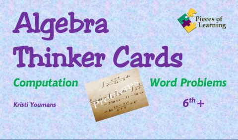 Algebra Thinker Cards