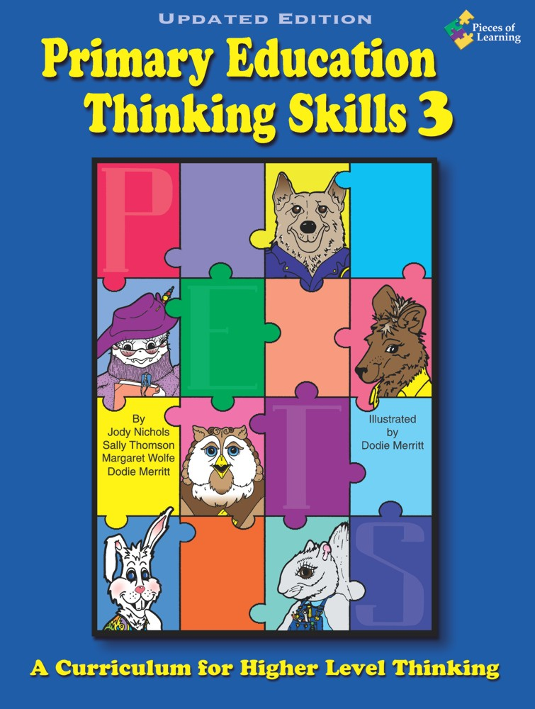 Primary Education Thinking Skills (P.E.T.S.™) 3 Updated with CD