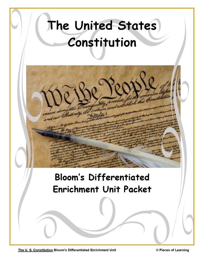 Go Green Unit - United States Constitution