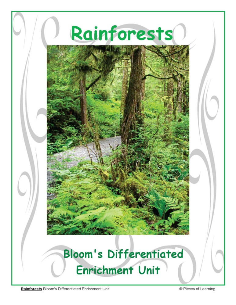 Go Green Unit - Rainforests