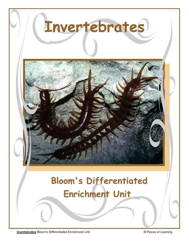 Go Green Unit - Invertebrates