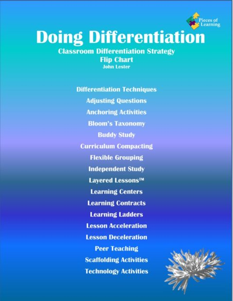 Doing Differentiation! Flip Chart