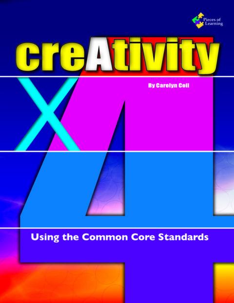 creAtivity X 4: Using the Common Core - E-Book