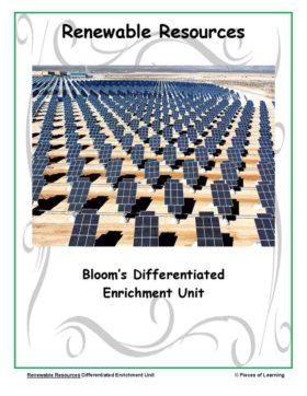 Go Green Unit - Renewable Resources