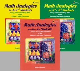 Math Analogies Set of 3 Books