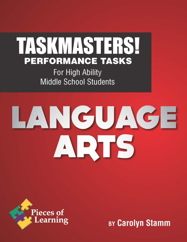 Task Masters! Performance Tasks - Language Arts