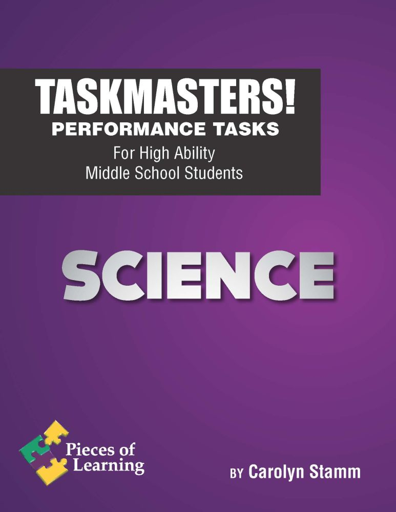 Task Masters! Performance Tasks – Science