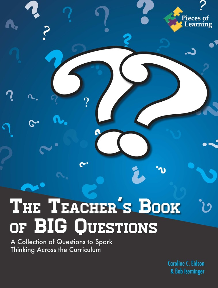 Cook Book Cover Questions : The teacher s book of big questions pieces learning