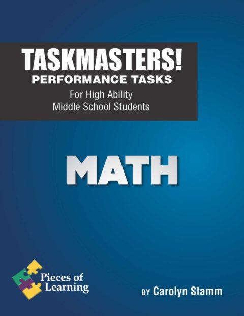 Task Masters! Performance Tasks - Math - E-book