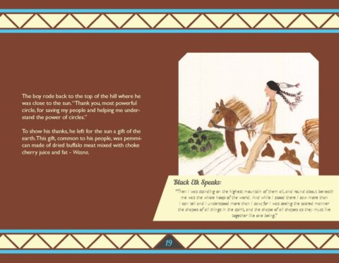Circle Boy Bringing Black Elk's Storytelling to Life