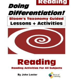 Doing Differentiation! Using Bloom's Taxonomy - Reading