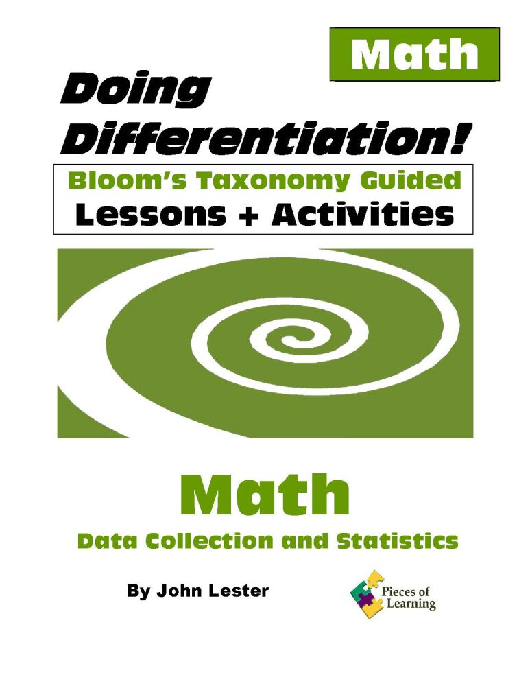 Doing Differentiation! Using Bloom's Taxonomy – Math