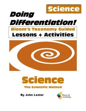 Doing Differentiation! Using Bloom's Taxonomy - Science